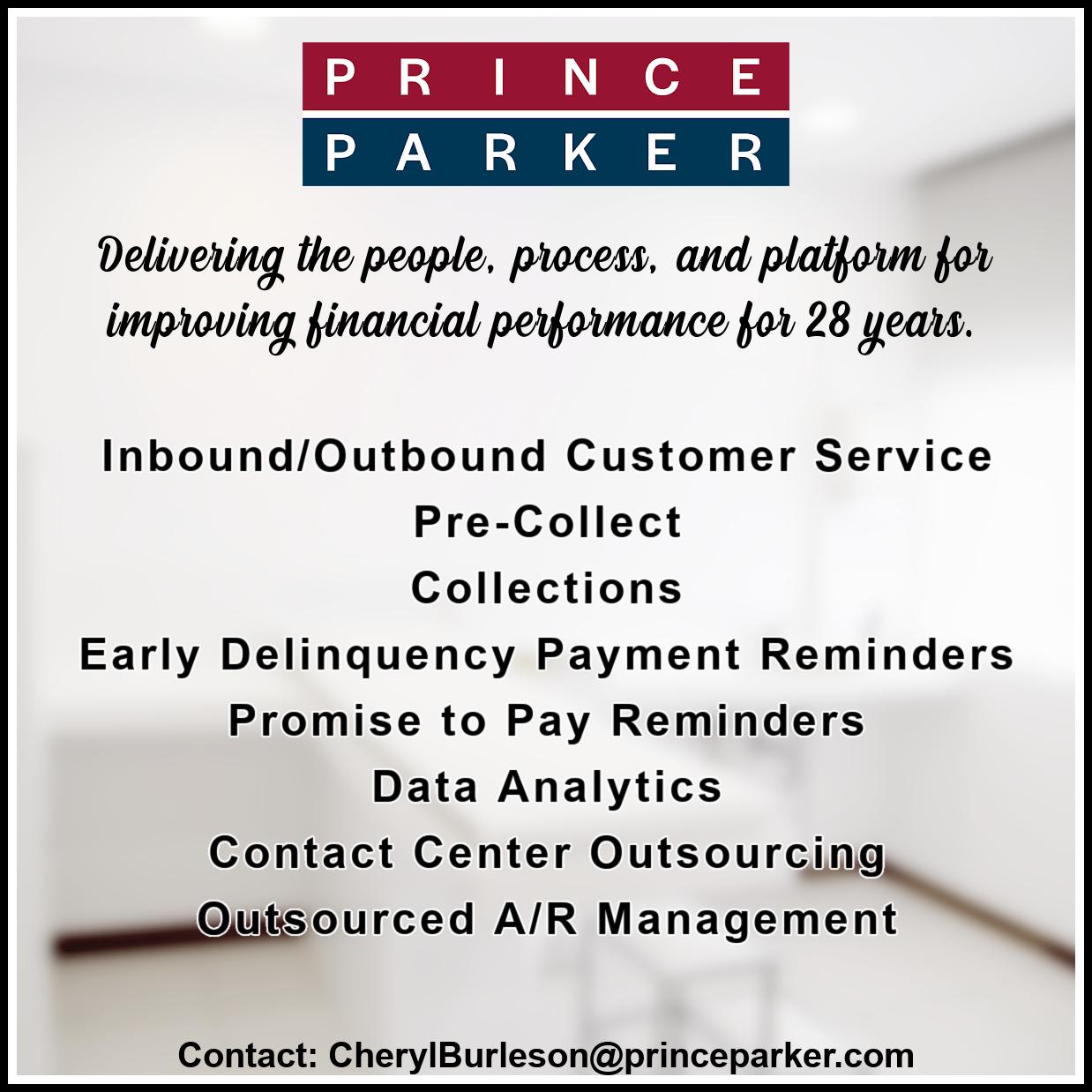 Prince Parker & Associates Ad