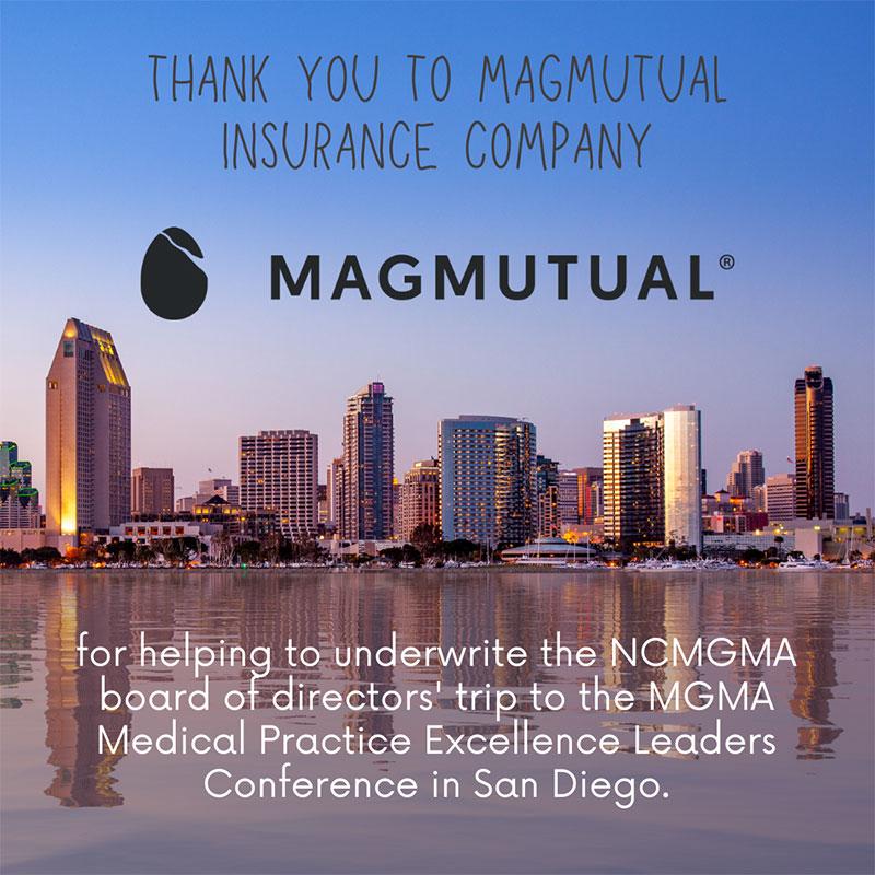 Thank You to MagMutual Insurance Company