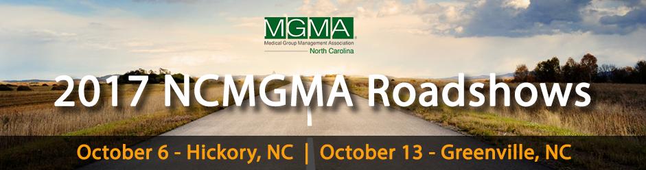 NCMGMA Greenville Roadshow Header